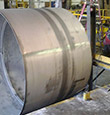 Abrasive Polishing of Stainless Steel Tank Shells for the Cryogenics Industry